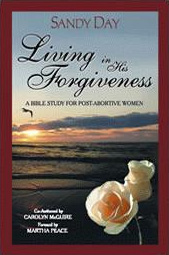 Living in His Forgiveness book cover