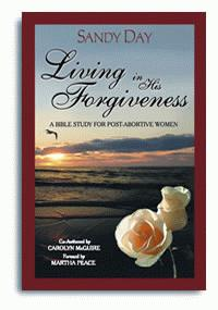 Living in His Forgiveness - front cover